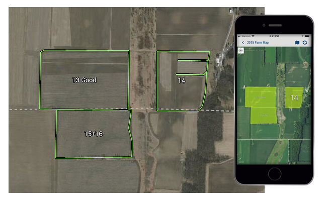 Trimble Ag Farm Mapping